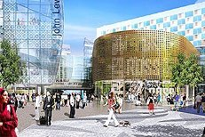 Westfield Stratford City shopping centre London