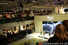 Westfield London atrium - home to the ice rink