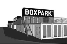Boxpark, a place to eat, drink & shop