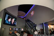Inside Westfield Stratford City Vue cinema