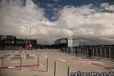Roof top car park Westfield Stratford City