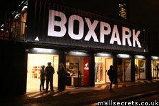 Boxpark shopping mall, Shoreditch