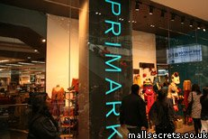 Primark at Westfield Stratford City shopping centre