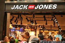 Jack Jones at Westfield Stratford City