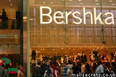 Bershka at Westfield Stratford City shopping mall