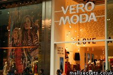 Vero Moda at Westfield Stratford City mall