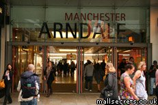 The Arndale shopping centre Manchester