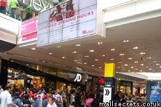 Extended opening hours at Westfield Stratford during the Olympics