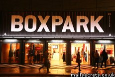 Boxpark shopping centre, Shoreditch, London