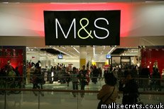 Marks & Spencers at Westfield London shopping centre