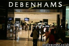 Debenhams at Westfield London shopping centre