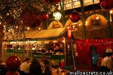 Covent Garden Canteen at Christmas
