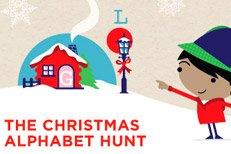 Westfield Stratford's Christmas Alphabet Hunt game