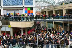 Trinity Leeds shopping centre. Photo: EG Focus