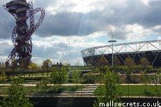 Queen Elizabeth Olympic Park near Westfield Stratford