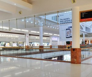 Inside the Merry Hill shopping centre
